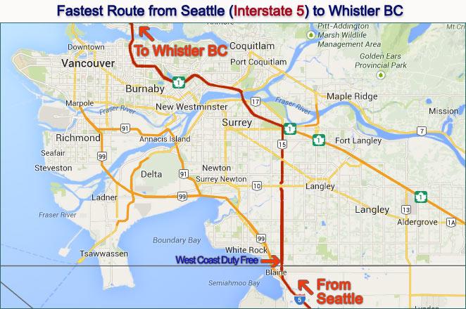 Location - West Coast Tax & Duty Free Store
